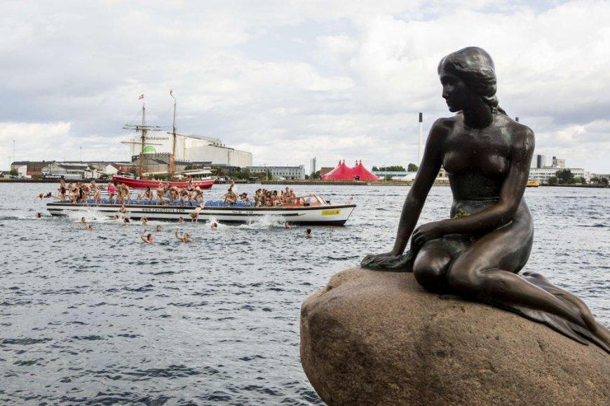 """Kopenhagos """"Undinėles"""" 100 metų iškilmės"""