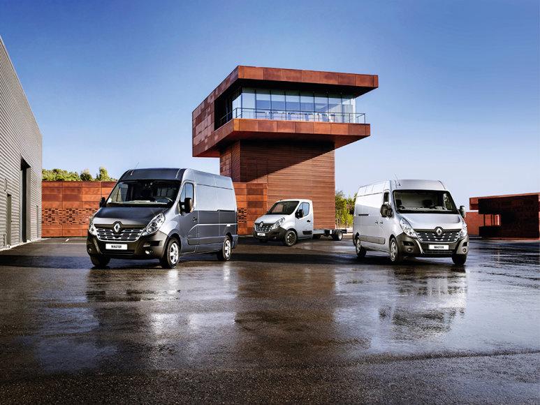 """Naujasis """"Renault Master"""""""