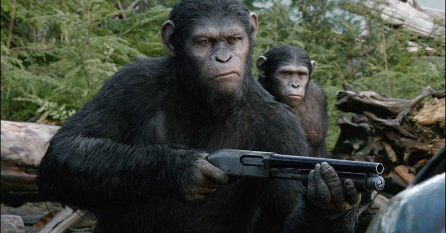 """Filmas """"Beždžionių planetos aušra"""""""
