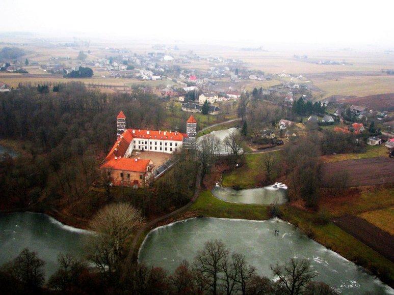 Lietuva iš paukščio skrydžio, Panemunės pilis