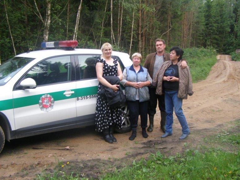 Sėkminga buvo ir Trakų rajone pasiklydusios grybautojos paieškos operacija