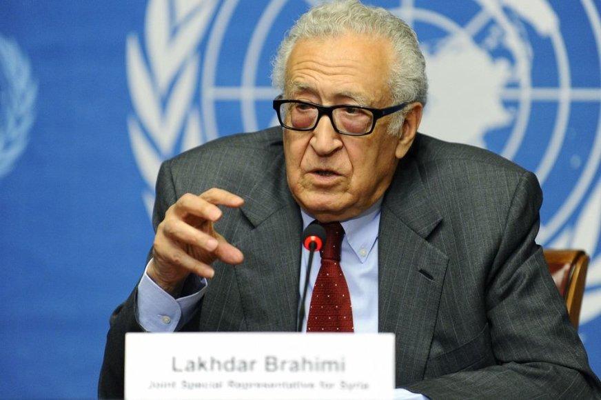 Jungtinių Tautų pasiuntinys Lakhdaras Brahimi