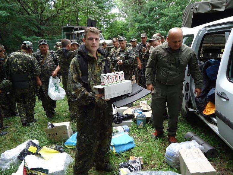 Parama Ukrainos kariams