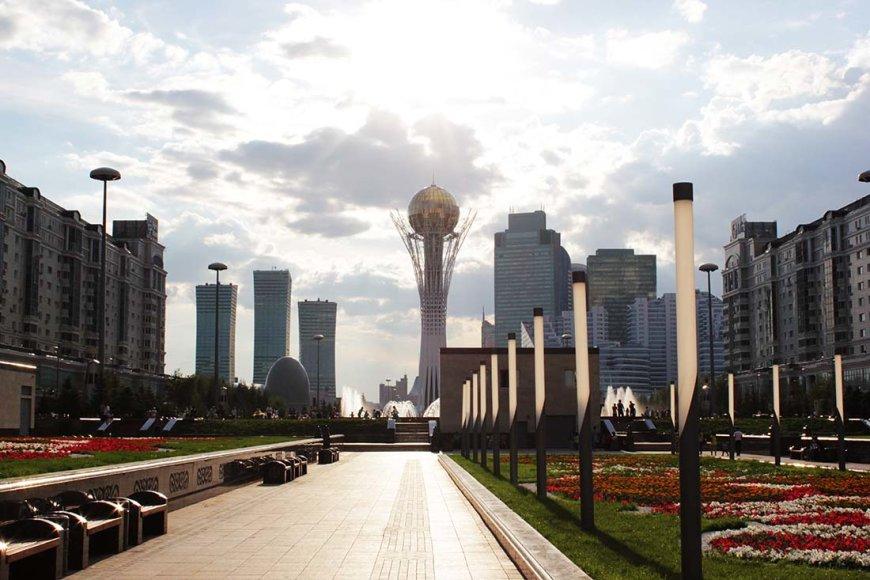 Kazachstano sostinė – Astana