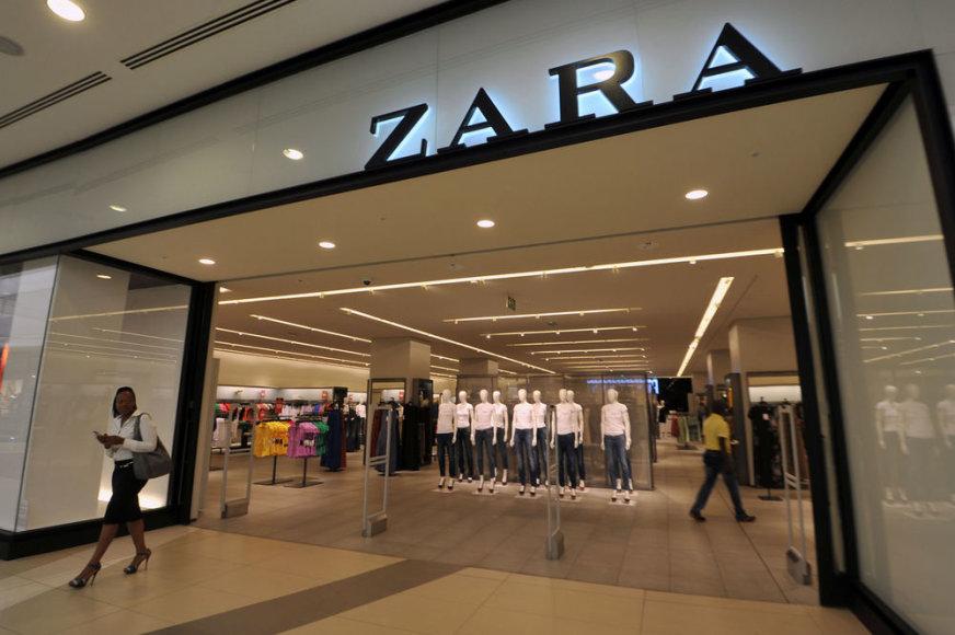 Zara parduotuvė