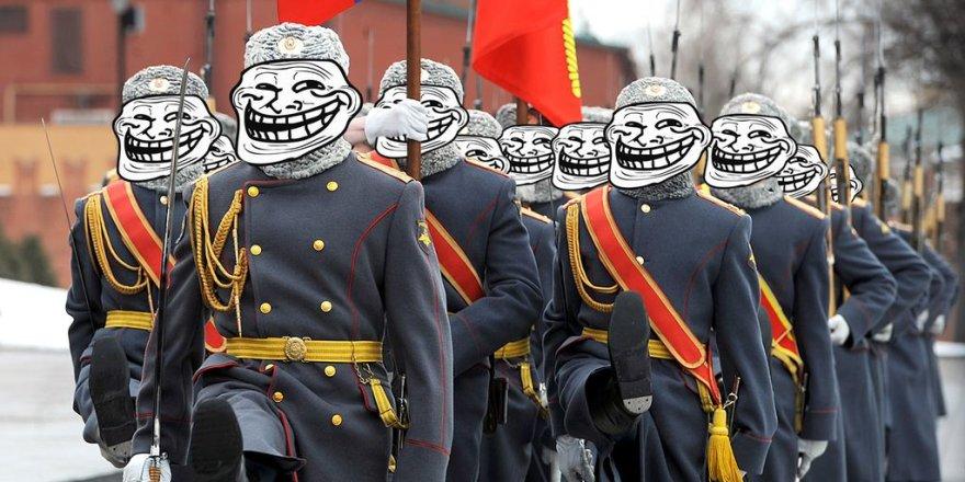 """Rusijos """"troliai"""""""