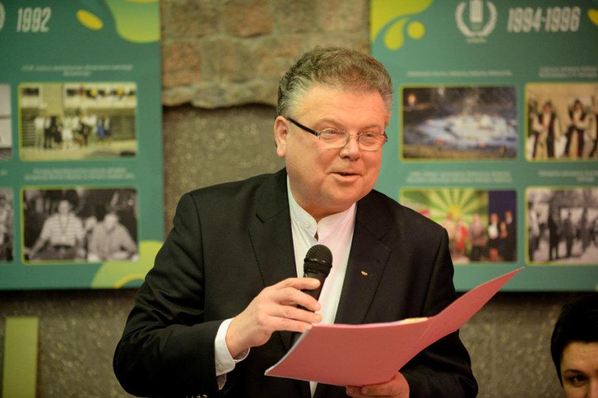 Lietuvos tautinio olimpinio komiteto 25 metų jubiliejaus paminėjimas – Artūras Poviliūnas