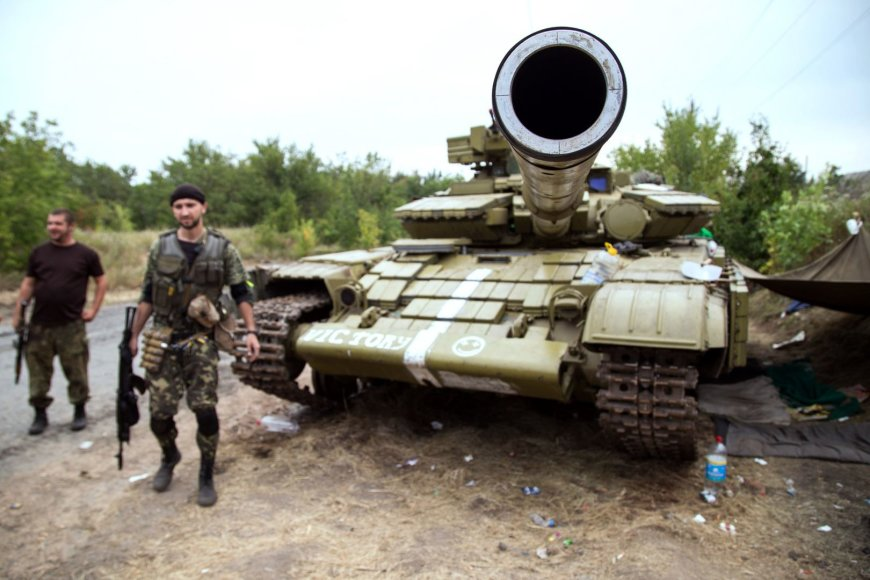 Ukrainos kariai skelbia sunaikinę daug teroristų