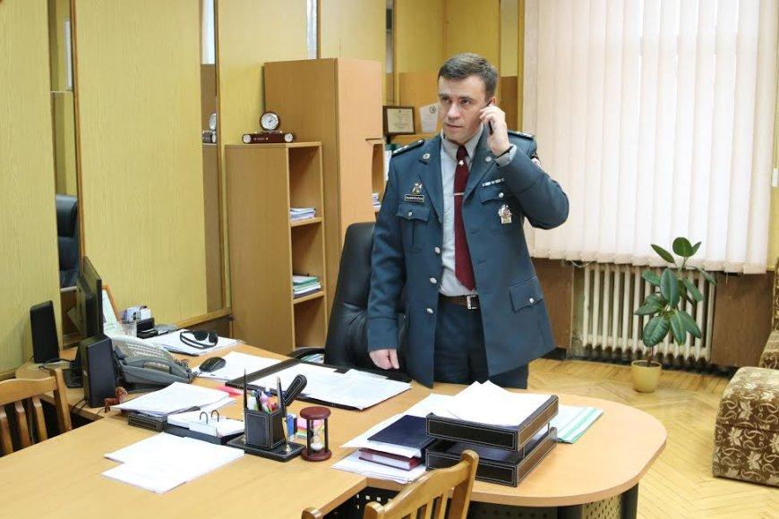 Šiaulių apskrities vyriausiojo policijos komisariato (AVPK) viršininko pavaduotojas R.Šiumberevičius