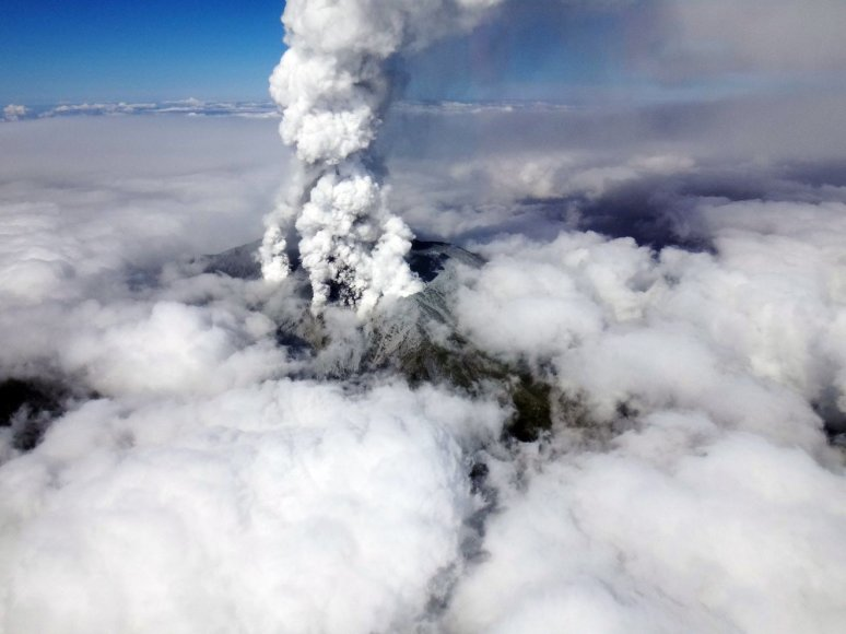 Ontakės ugnikalnis