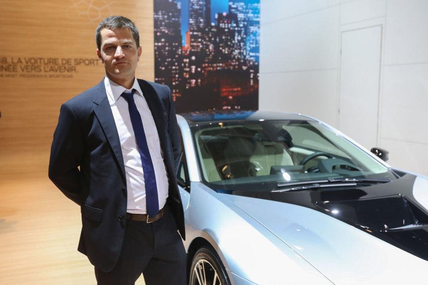 BMW i produkto vadovas Marcas Breitheckeris