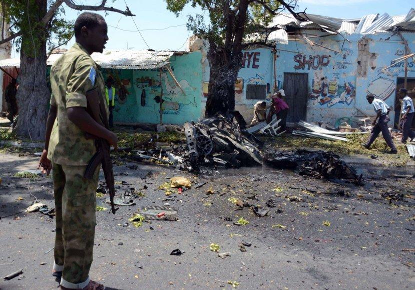 Sprogimo padariniai Mogadiše