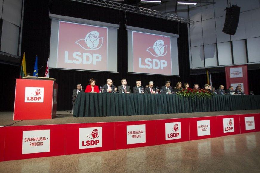 LSDP partijos suvažiavimas