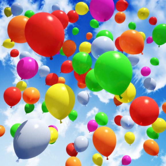 Spalvingi balionai