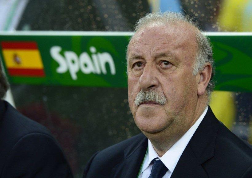 Ispanijos futbolo rinktinės treneris Vicente'as del Bosque