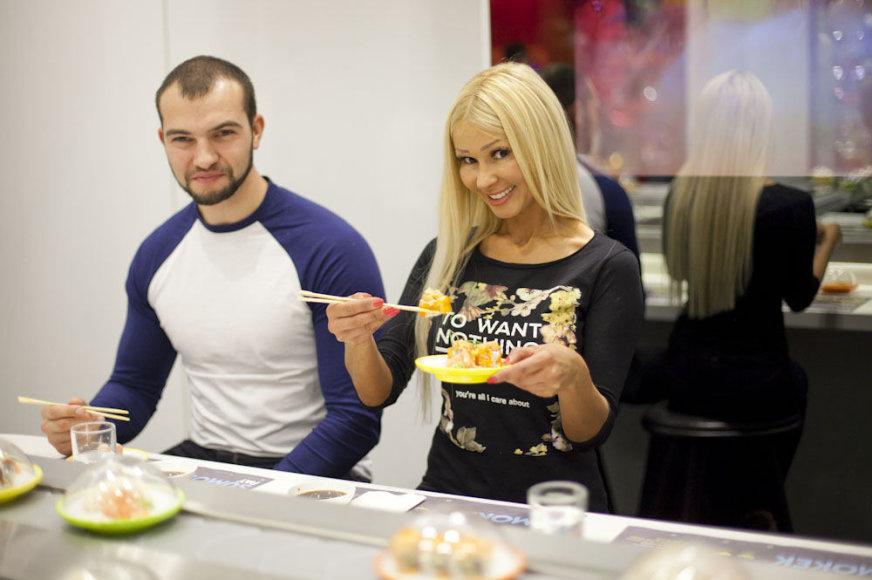 Diana Martinėlė ir Rimas Petraitis
