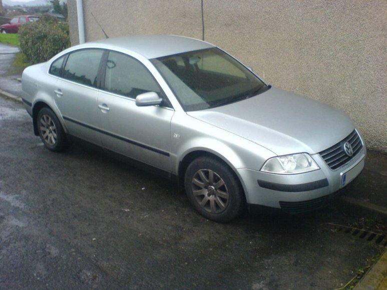 """2001 m. gamybos """"VW Passat"""""""