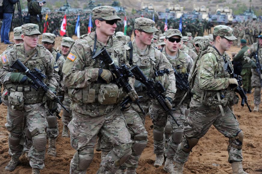 """NATO pratybos """"Geležinis kardas 2014"""""""