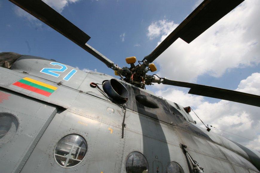 Lietuvos karinių oro pajėgų sraigtasparniai