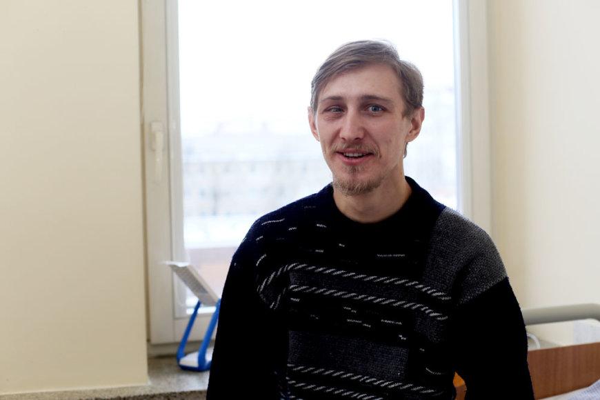 Kaune gydomas ukrainietis