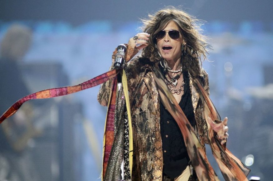"""Aerosmith"" lyderis Stevenas Tyleris"