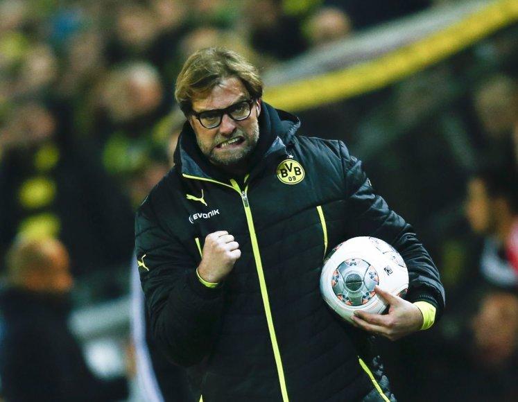 """Borussia"" treneris Jurgenas Kloppas"