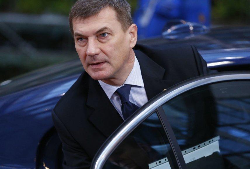 Estijos ministras pirmininkas Andrus Ansip