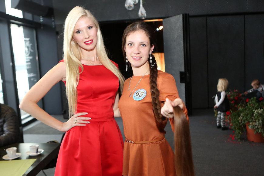 Inga Stumbrienė ir Julija Aleksejeva
