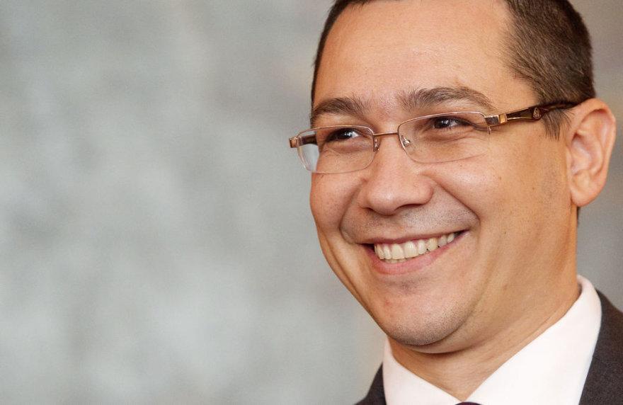 Rumunijos premjeras Victoras Ponta