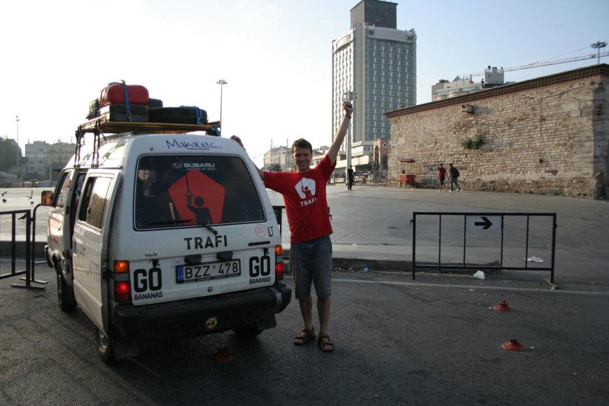"""Aplankėme Stambulą, kur viešojo transporto grafikus reguliuoja vienas iš mūsų remėjų """"Trafi"""""""