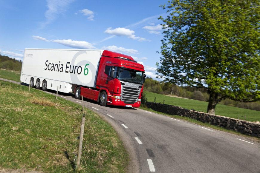"""Scania"" vilkikai"
