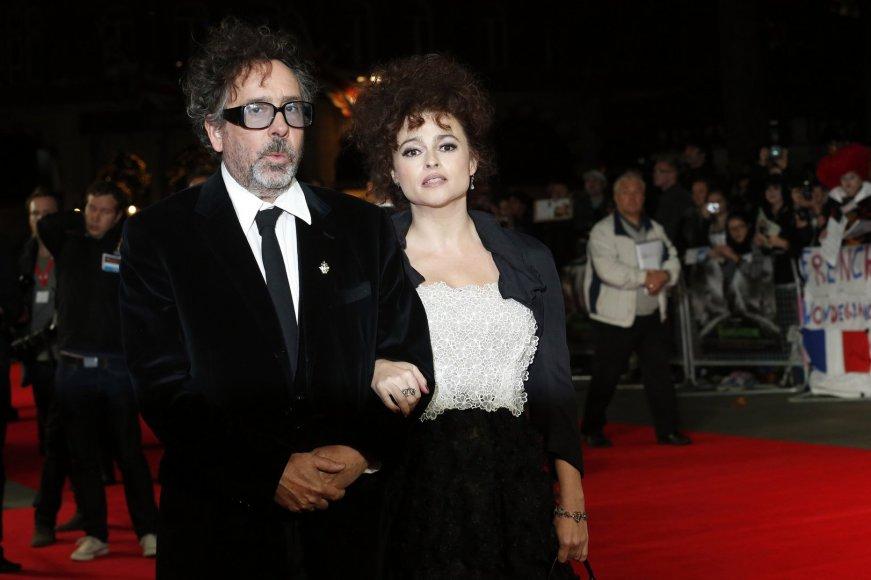 Timas Burtonas ir Helena Bonham Carter