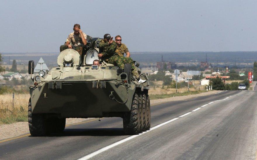 Rusijos kariai netoli Ukrainos sienos