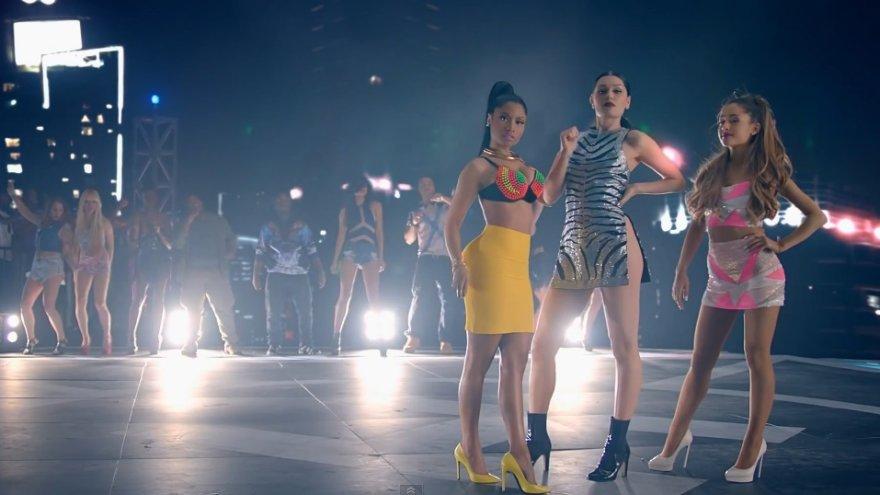 Nicki Minaj, Jessie J ir Ariana Grande