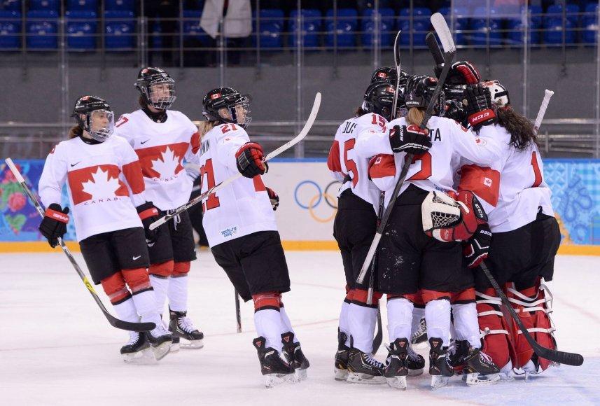 Kanados moterų ledo ritulio rinktinė