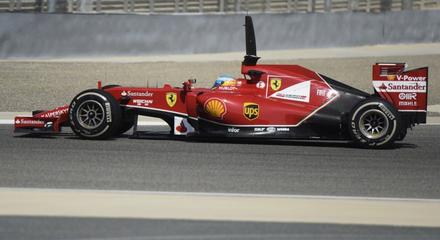 F-1 bandymai Bahreine