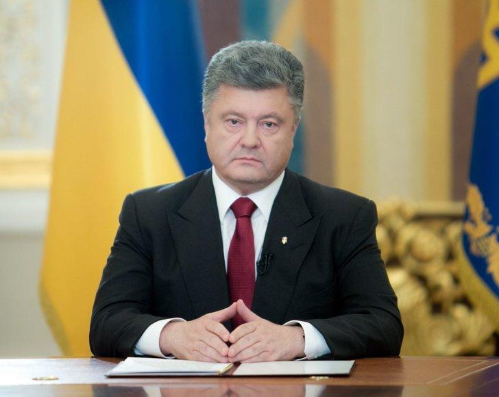 Ukrainos prezidentas Petro Porošenka