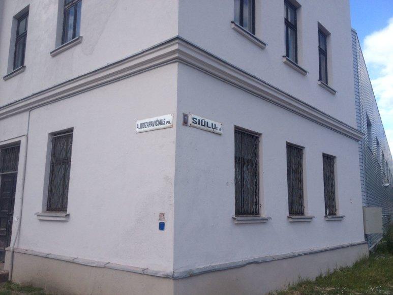 Gatvė, kurios pavadinimą siūloma keisti