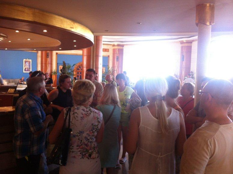Lietuviai Šarm el Šeicho viešbutyje
