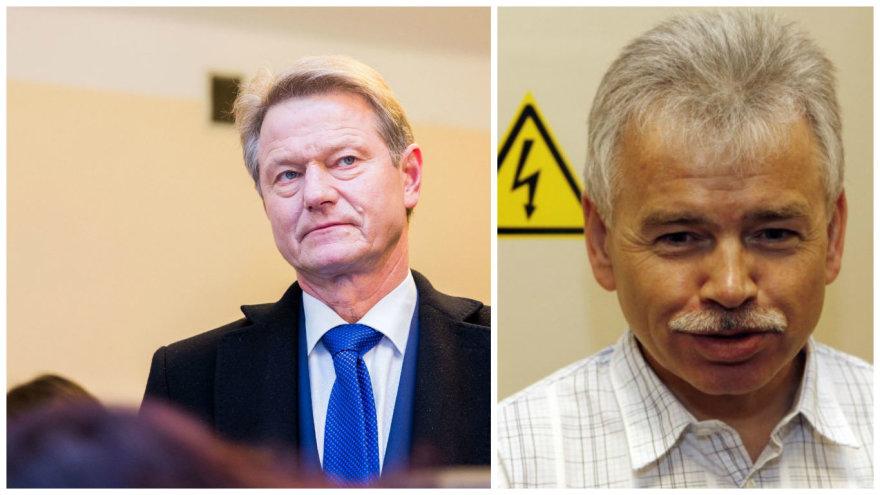 Rolandas Paksas ir Jurijus Borisovas