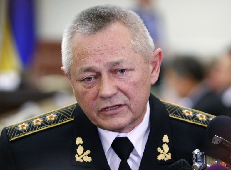Ukrainos gynybos ministras Ihoris Teniuchas