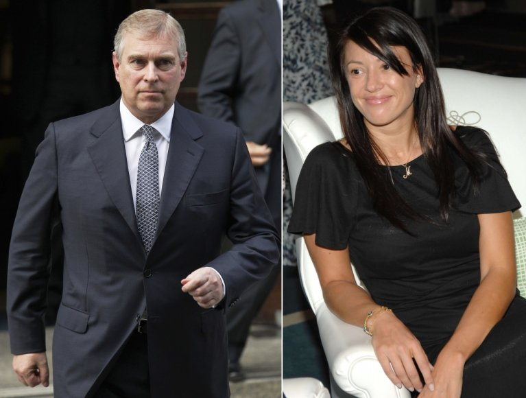 Princas Andrew ir Monika Jakišič