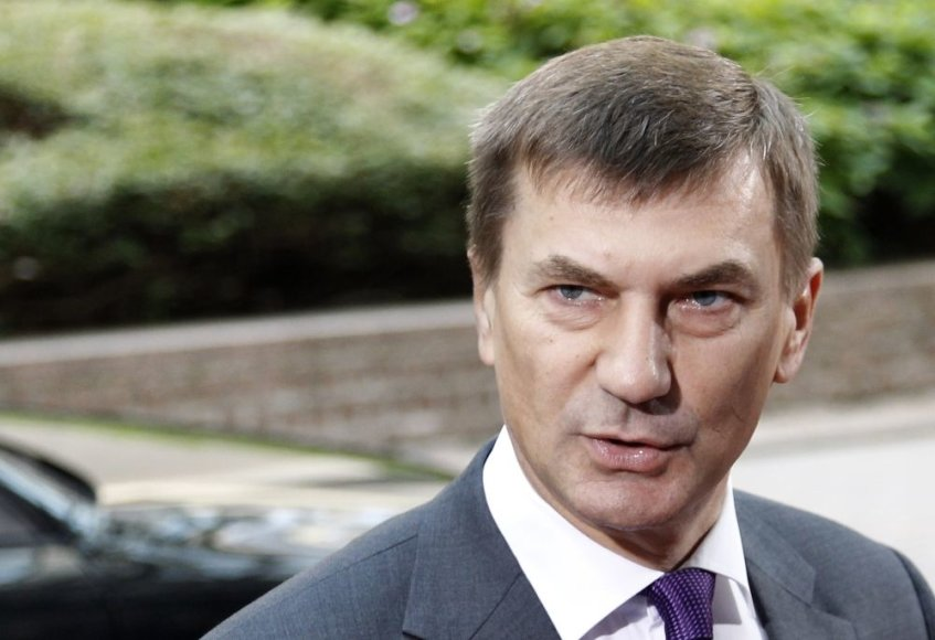 Estijos premjeras Andrusas Ansipas