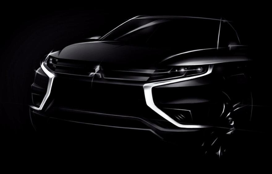 """Mitsubishi Outlander PHEV Concept-S"""