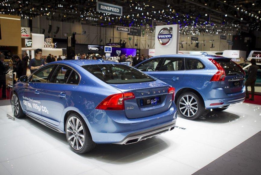 """""""Volvo"""" Stendas Ženevos automobilių parodoje"""