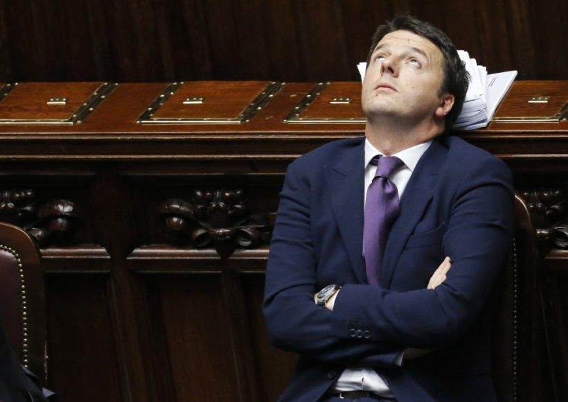 Matteo Renzi neturi kantrybės taikstytis su apkerpėjusiomis Italijos politikos konvencijomis