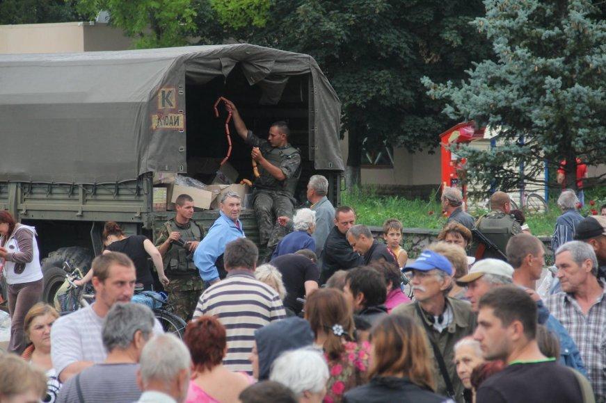 Slovjanske dalinant maistą sulaikyti teroristai