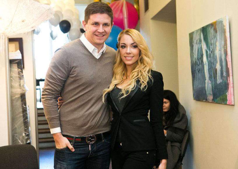 Liepa Mondeikaitė ir Evaldas Norkevičius