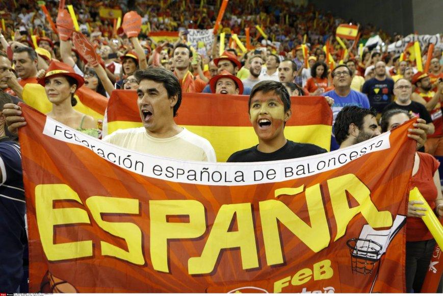 Ispanijos krepšinio sirgaliai