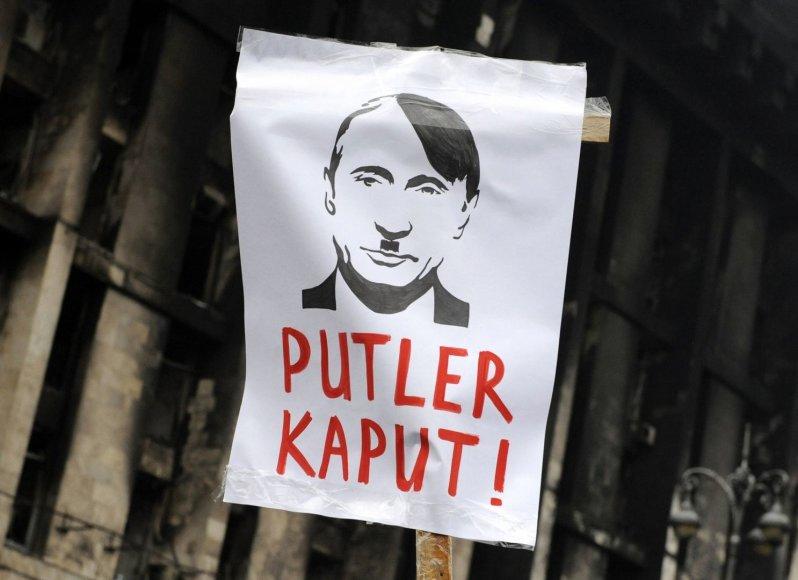 Protestas prieš Rusiją